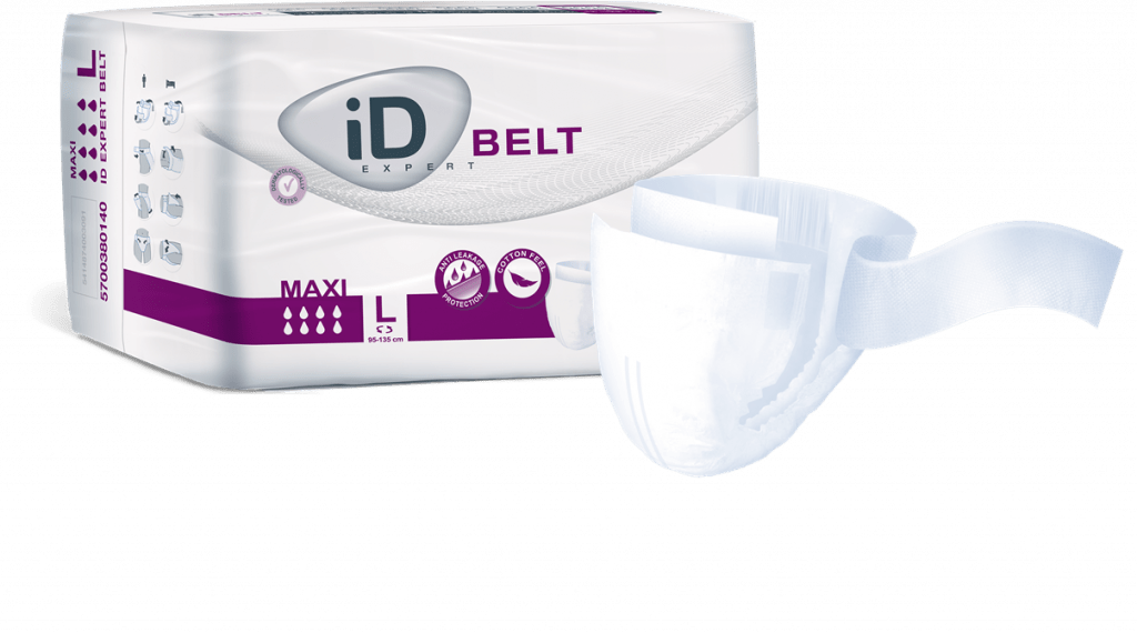 iD expert belt product and package