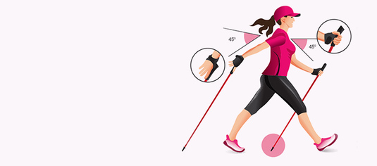 Nordic Walking | health effects on bladder weakness