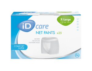 iD Care Net pants XL Comfort Super